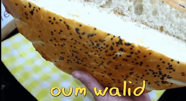 أسهل خبز خفيف بوصفة مضمونة و ناجحة  -  أم وليد