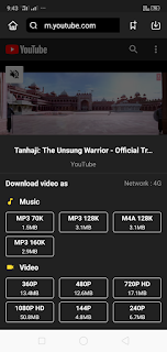 SnapTube Free YouTube videos Downloader