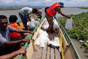 Menjaga Populasi Ikan, Dinas Peterikanan Menabur Benih Ikan