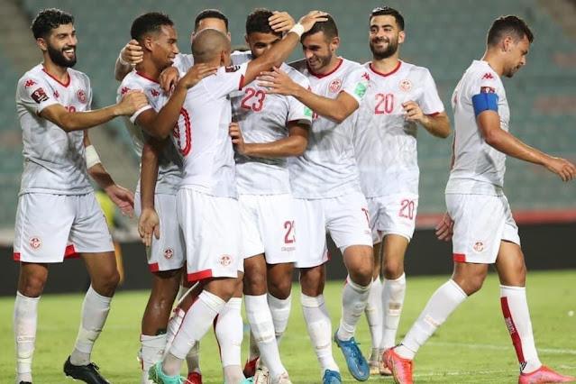 ملخص اهداف مباراة تونس وزامبيا (2-0) تصفيات كاس العالم