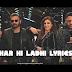 Sheher Ki Ladki/ Badshah| OneMillionLyrics.com