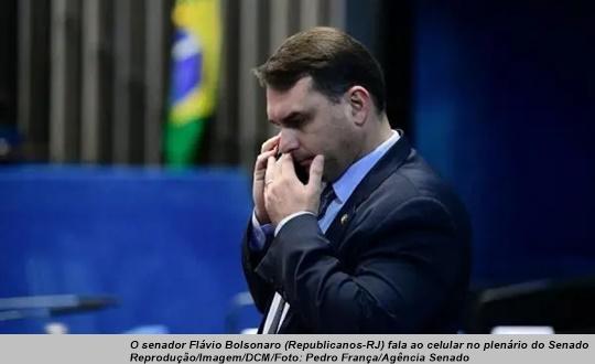www.seuguara.com.br/Flávio Bolsonaro/Abin/