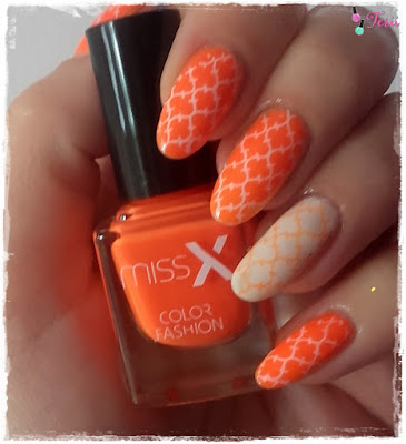 MissX 274 Neonowa  Pomarańczka