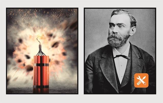 alfred bernhard nobel ilmuwan barat penemu dinamit