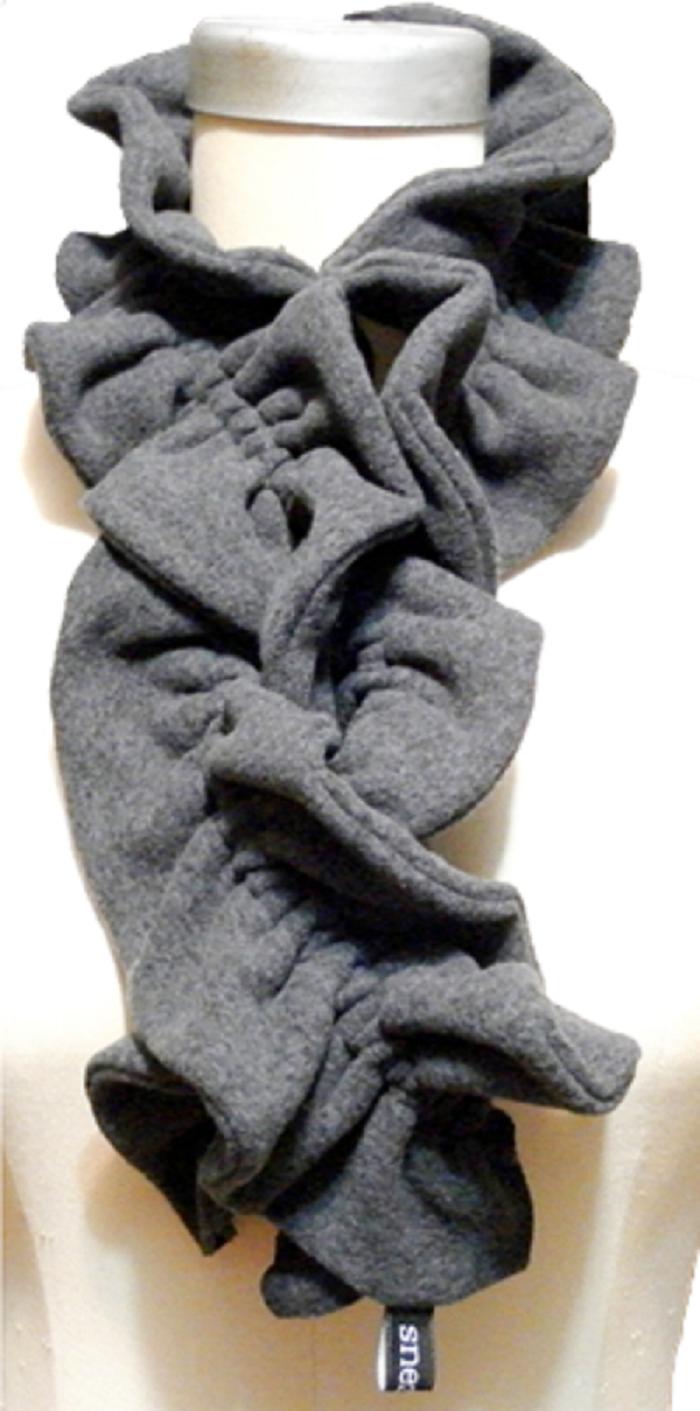 Cuddly Fleece Scarf