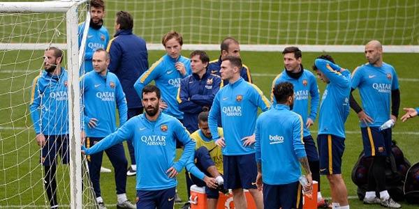 Ini Skuad Barcelona Hadapi Arsenal