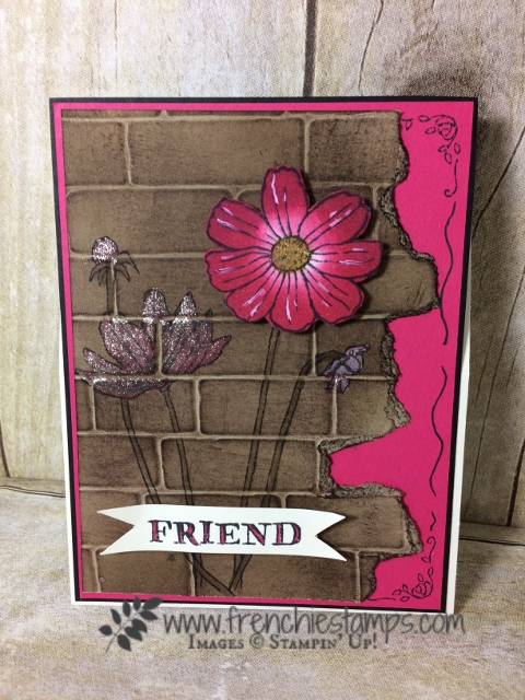 Helping me Grow, Easel Calendar, Stampin'Up!