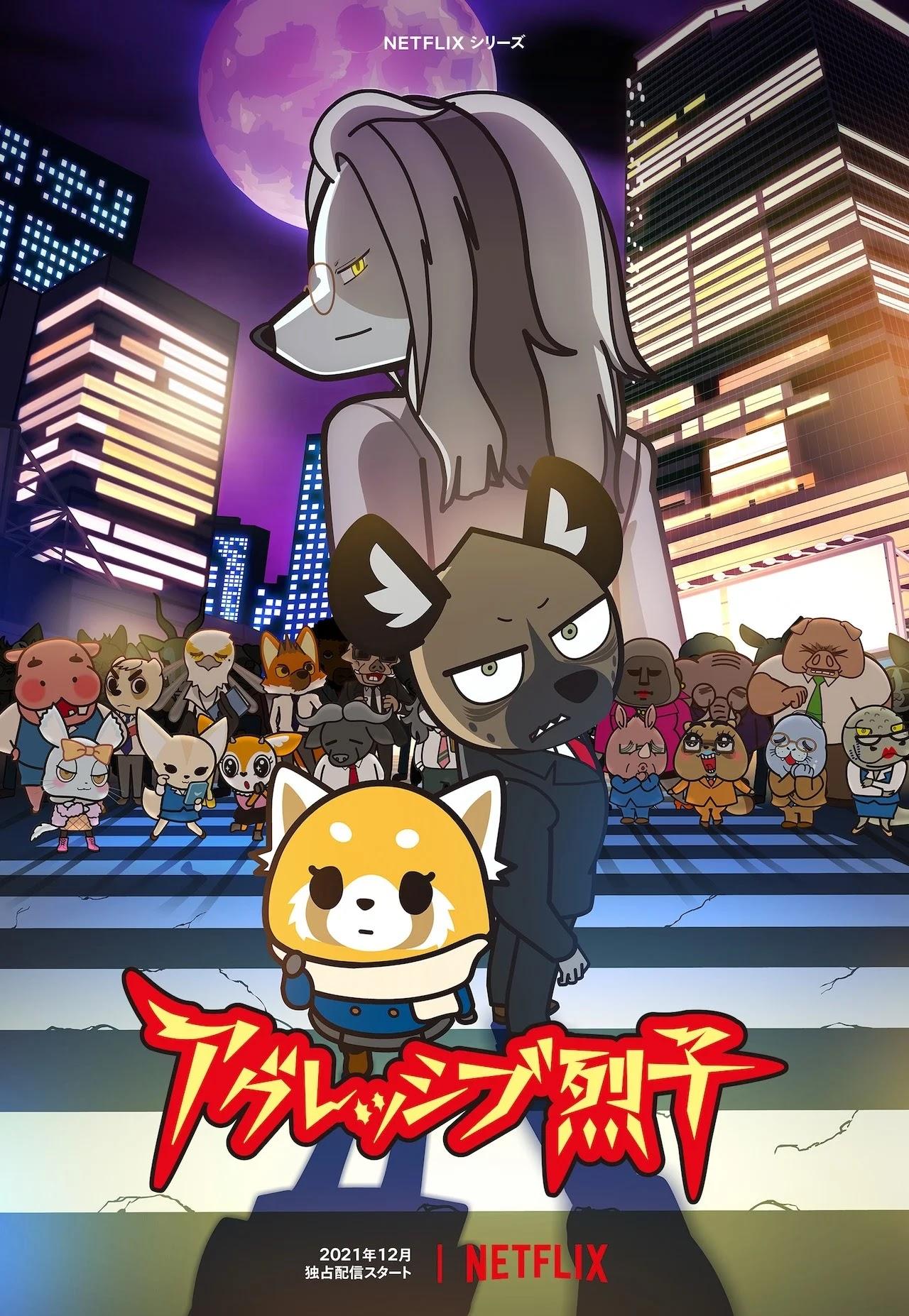 A Quarta Temporada de Aggressive Retsuko estreia em Dezembro