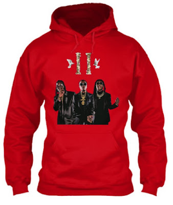Migos Culture 2 T Shirt Hoodie