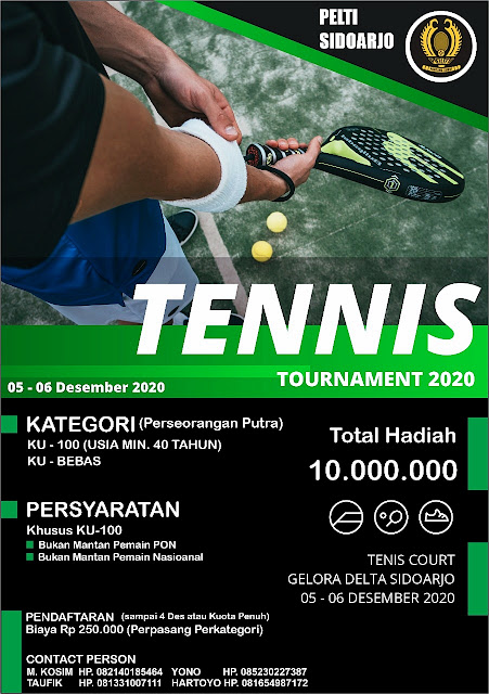 Tennis Tournament 2020 Sidoarjo