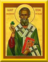 Saint Patrick of Ireland Icon