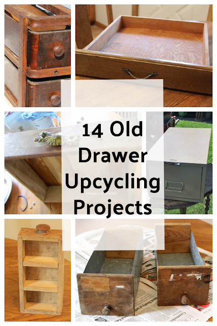 14 Old Drawer Upcycling/Repurposing Projects