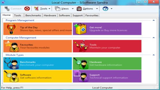 Sandra Lite screenshot 2