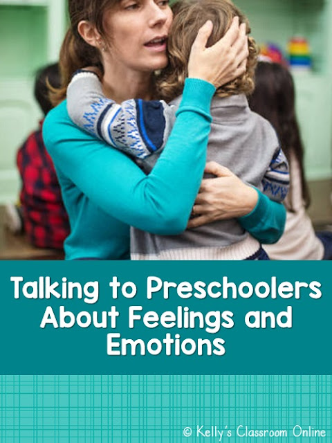 The importance of teaching children how to identify their feelings and emotions and how to express them appropriately. Preschool children and teachers