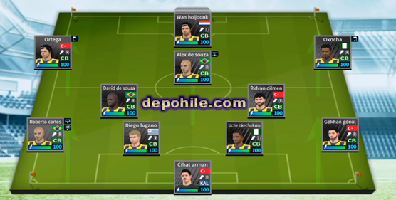 DLS19 Fenerbahçe Efsaneleri Yaması Alex,Anelka,Roberto Carlos