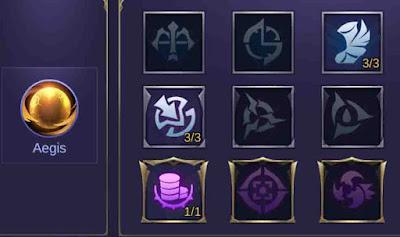Emblem spell Claude Mobile Legends
