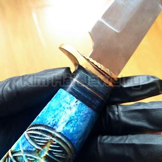 dao săn cổ điển được rèn thủ công
