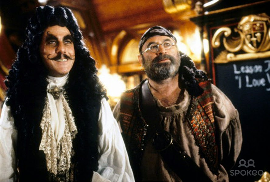 photos of bob hoskins in hook and roger rabbit also smee