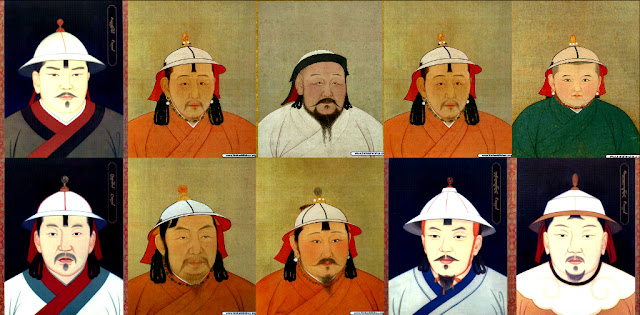 11 vị vua triều đại nhà Nguyên