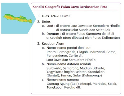 kunci jawaban tematik kelas 5 tema 1 pulau jawa