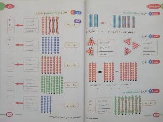 كتاب بكار في الرياضيات الصف الاول الابتدائى الترم الثانى المنهج الجديد