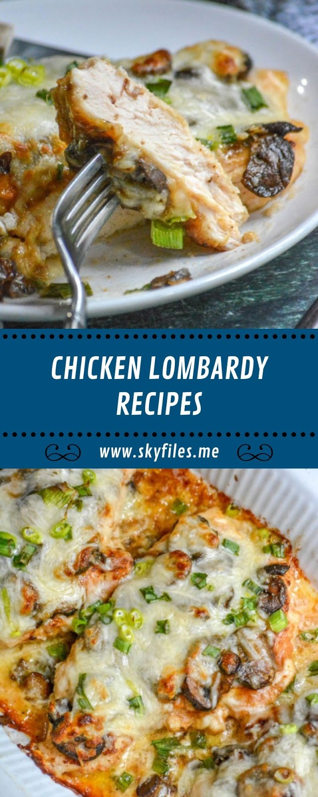 CHICKEN LOMBARDY RECIPES