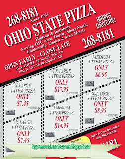 ohio state pizza coupons