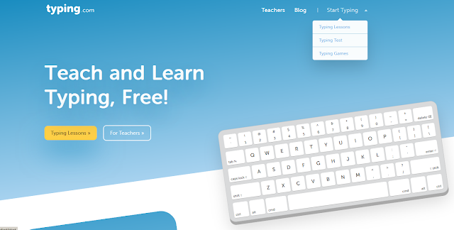 Belajar mengetik 10 jari secara online