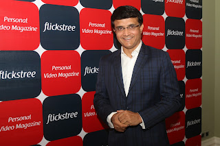 Sourav Ganguly announces his innings in the startup world, invests in an entertainment company Flickstree