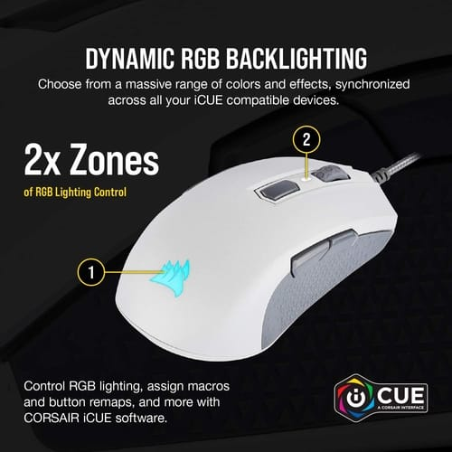 Review Corsair M55 RGB Pro Wired Multi-Grip Gaming Mouse