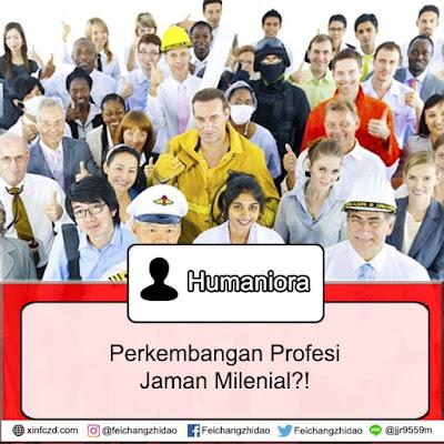 Profesi Baru Generasi Milenial