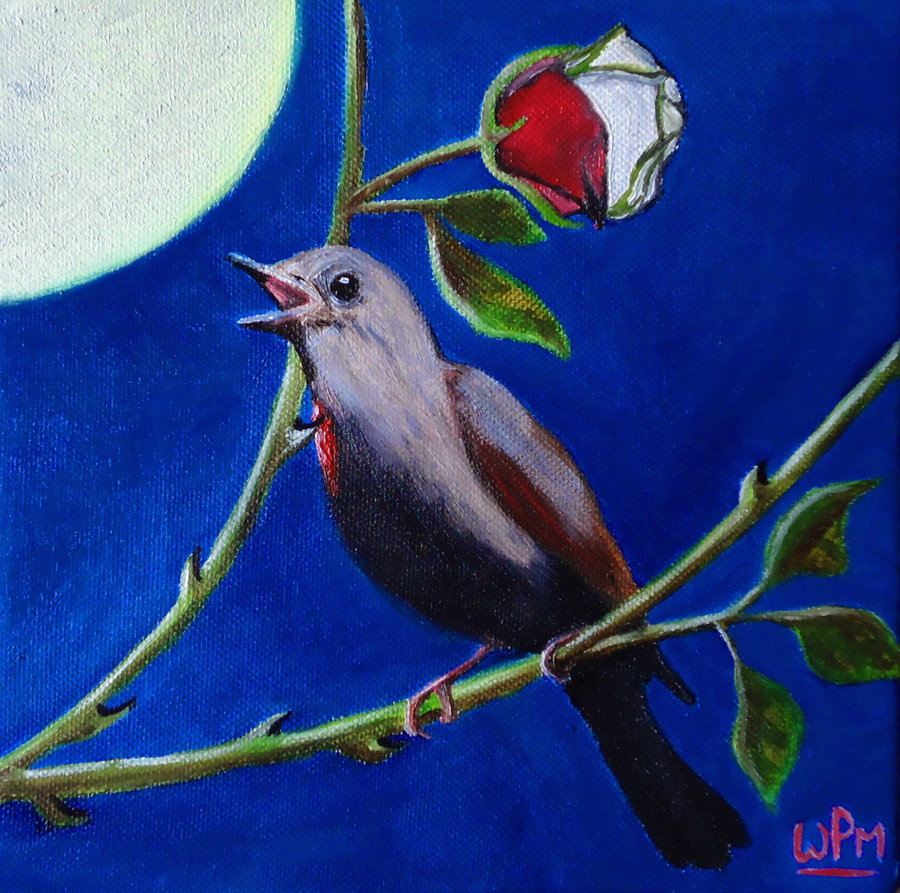 the nightingale and the rose story