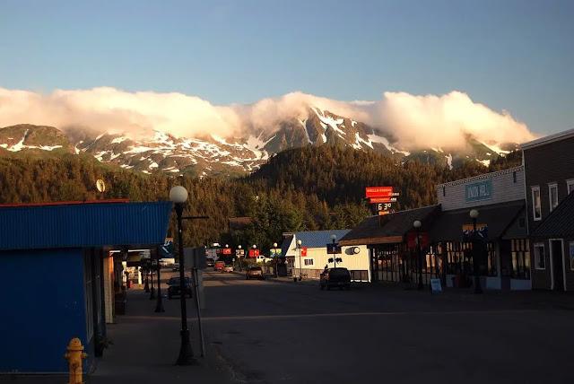 Chugach Mountains  in Cordova, Alaska