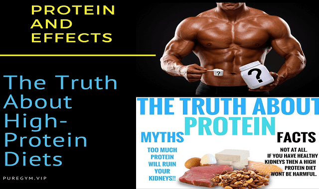 Protein and Effects: The Truth About High-Protein Diets