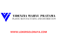 Loker Sukoharjo Sales di CV Videnzia Wahyu Pratama Plasindo