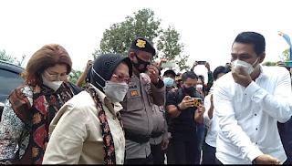 Didampingi Bupati Batanghari Fadhil Arief, Mensos RI Tri Rismahari Temui SAD di Batin XXIV