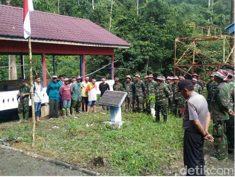 Demi Upacara di Makam Cut Meutia Prajurit Aceh Rela Tembus Hutan Dan Seberangi Sungai