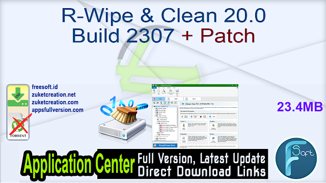 R-Wipe & Clean 20.0 Build 2307 + Patch