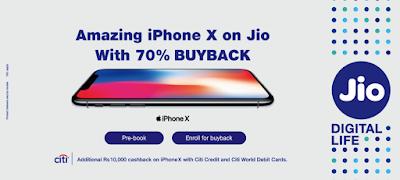 jio iphonex