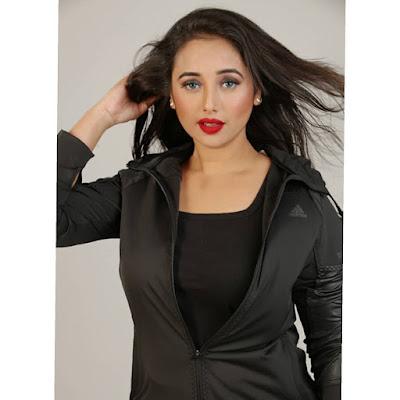 Rani Chatterjee beautiful photo shoot in red dress