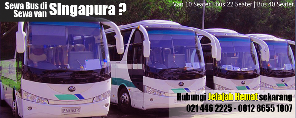 sewa bus van singapore