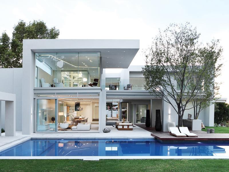Modern luxury house in johannesburg archilovers designer home homeluxury modern