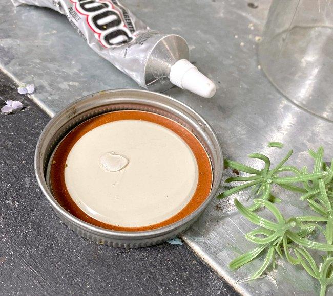 E6000 glue for tops of carrots