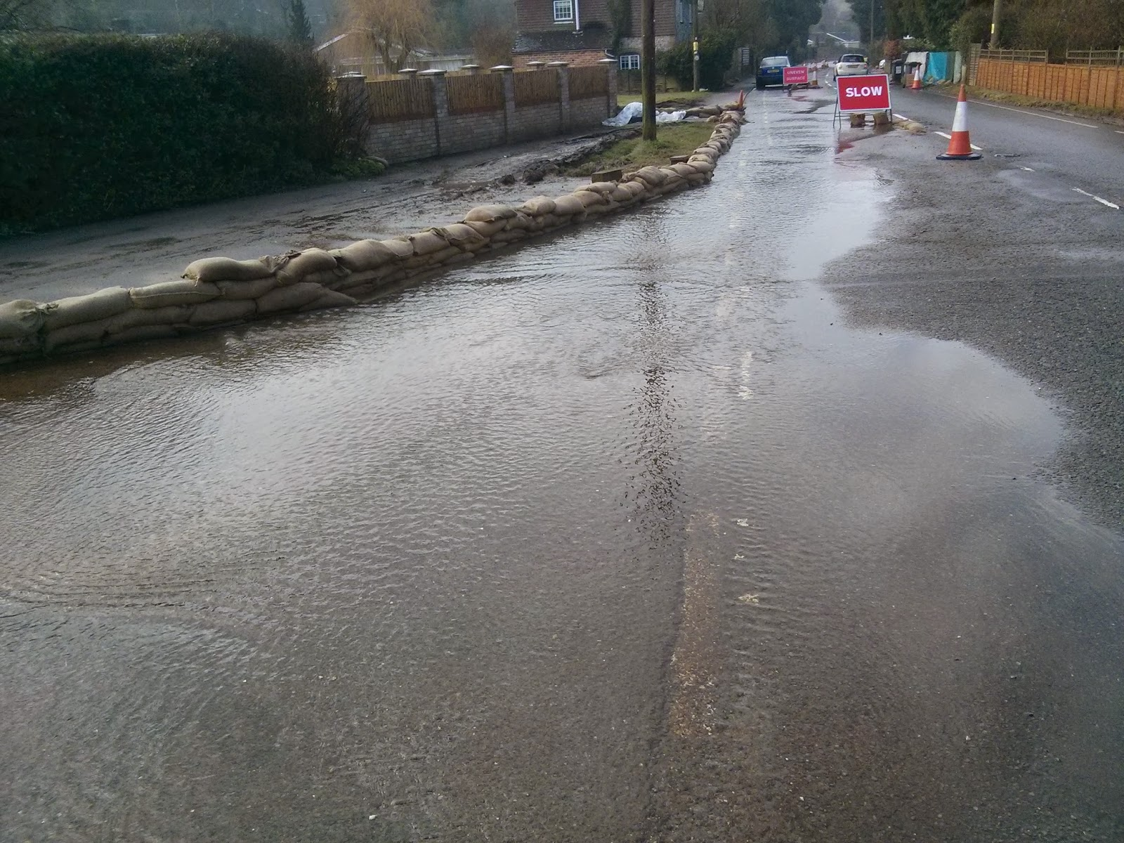 Hurstbourne Tarrant Flooding 2014