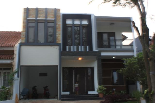 Model Rumah Minimalis 2 Lantai Yang Sedang Trend Kumpulan Model