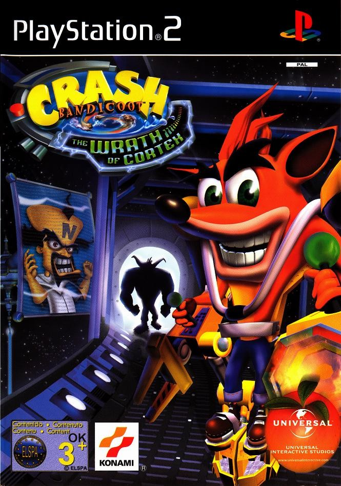 crash bandicoot the wrath of cortex 2 - Crash Bandicoot the wrath of cortex ps2