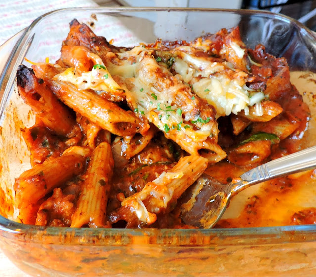 Spicy Tomato & Sausage Pasta
