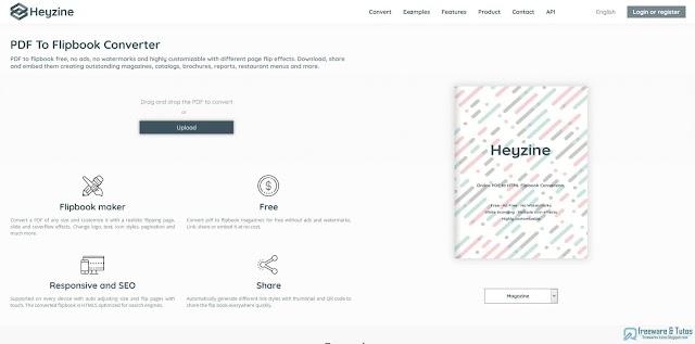 Heyzine : une application gratuite pour convertir les fichiers PDF en flipbooks