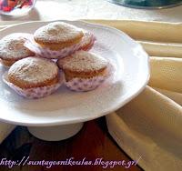 Κεκάκια με κρέμα λεμονιού - by https://syntages-faghtwn.blogspot.gr