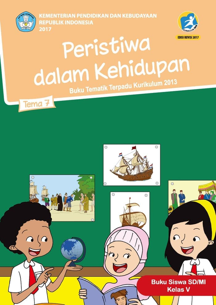 Buku Siswa Tematik SD Kelas V Tema 7 Peristiwa dalam Kehidupan